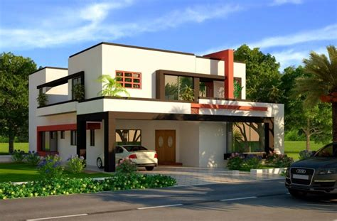Modern Beautiful Duplex House Designs  Home Design