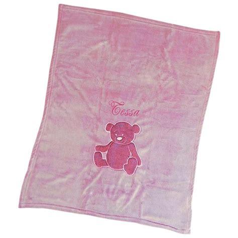 Decke Bärchen Mit Stickerei, Ein Persönliches Geschenk Als