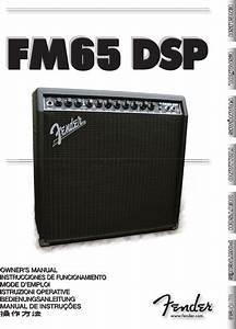 Fender Musical Instrument Amplifier Fm 65 Dsp User Guide