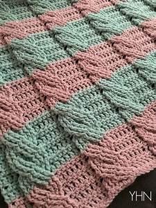 Make This Beginner Crochet Cable Blanket   Full Video