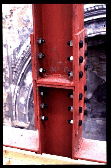 steel columns bolts conexiones pinterest columns