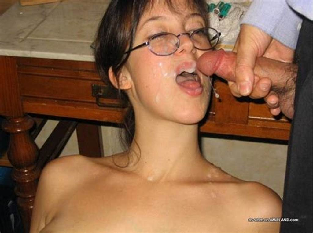 #Amateur #Girlfriends #Enjoying #Facial #Cum