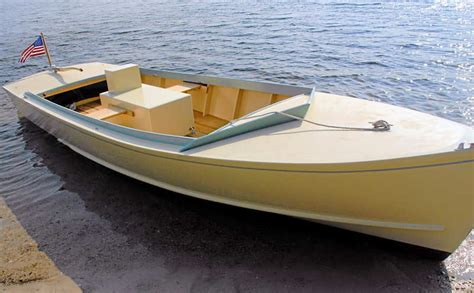 Wood Boat Hull Design by Wooden Flats Boat Designs