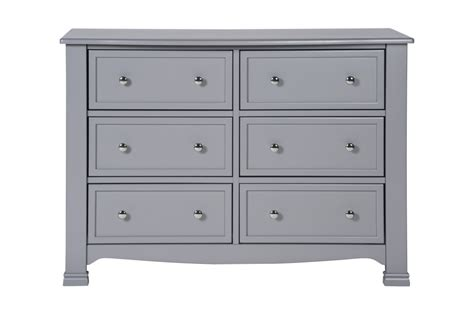 davinci kalani 6 drawer dresser grey kids n cribs