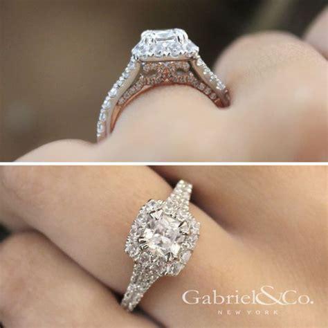 cushion cut engagement rings gabriel co