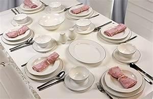 Geschirr Set 12 Personen Günstig : premium 56 teilig tafelservice porzellan set service f r 12 personen geschirr in wei ~ Eleganceandgraceweddings.com Haus und Dekorationen