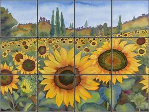Image Gallery sunflower murals