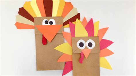 paper bag turkey puppet grandparentscom