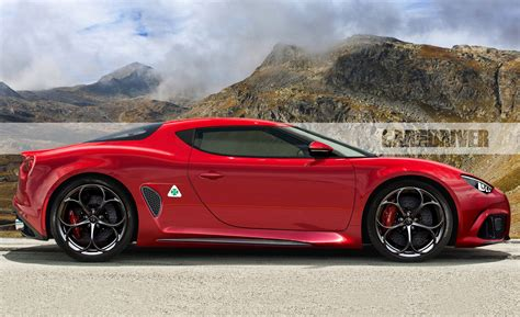 2022 alfa romeo 8c coupe rendered what we know news car and driver