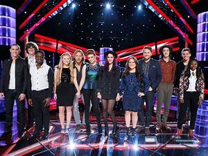 The Voice Results  Who Made The Top Ten