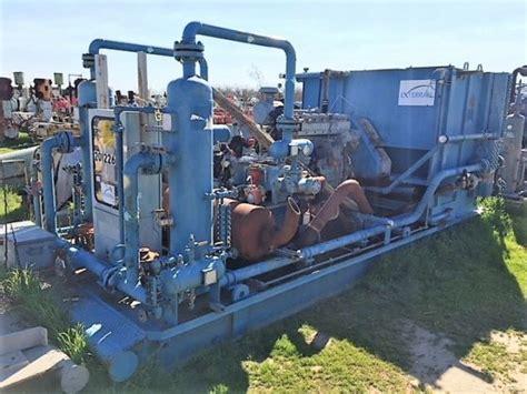 Natural Gas Compressor Ariel Model Jgp-2 Stage / Cat
