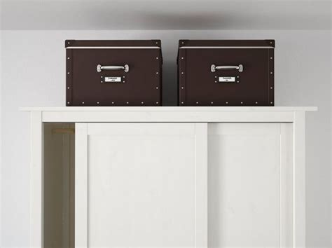 Ikea Scatole Guardaroba by Scatole Per Armadi Mettere In Ordine 232 Pi 249 Facile