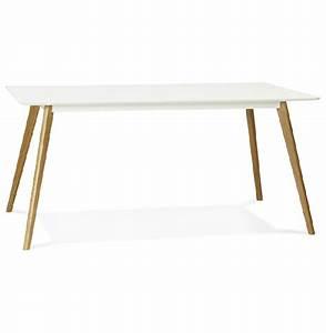 Table De Cuisine Rectangulaire : tables rectangulaire alterego design achat vente de ~ Teatrodelosmanantiales.com Idées de Décoration
