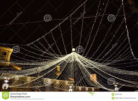 christmas web of lights stock photo image 63697348