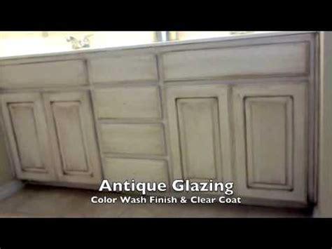faux paint finish walls  antique glaze cabinets