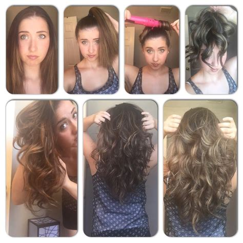 easy fast curls for thick long hair hair makeup in