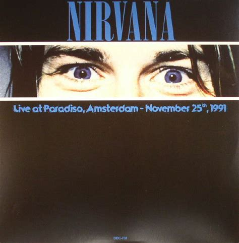Lots Of 3 Live Albums By Nirvana, Greatest Hits Live On