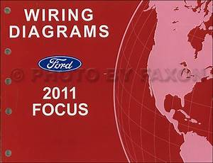 2011 Ford Focus Wiring Diagram Manual Original