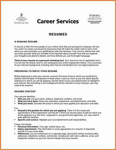 resume no objective idealvistalistco With career objective for resume