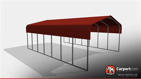 double wide steel carport      shop metal