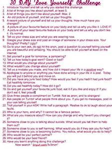 30-Day Love Challenge Yourself