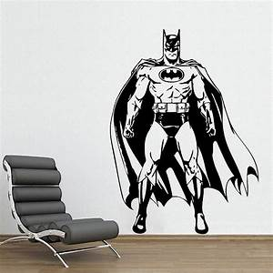 Batman awesome wandaufkleber wandtattoo for Awesome wall decal directions