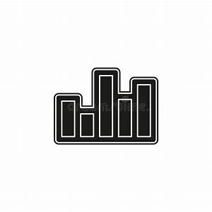 Growth Bar Diagram Stock Illustration  Illustration Of