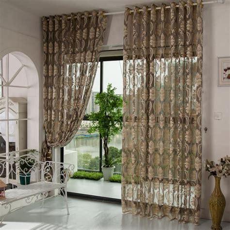 2pcs 150cmx270cm rideaux pour le salon rideau voilage