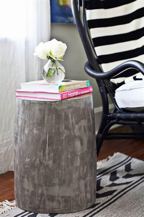 diy ultralight c chair diy lightweight cement side tables a beautiful mess