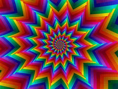 Background Gifs Backgrounds Rainbow Trippy Nuts Parade