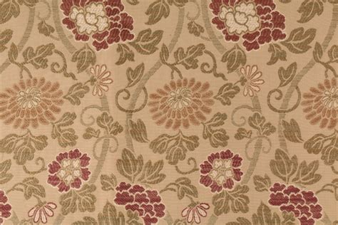 Country Upholstery Fabric by 1 7 Yards Robert Allen Beacon Hill Lovely Country Tapestry