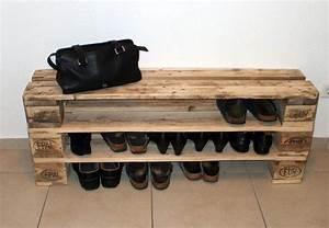 Schuhschrank Aus Paletten Schuhschr Nke Einzigartiges Schuhregal