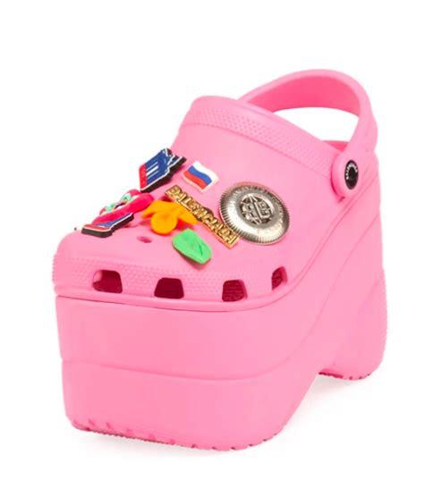 high heeled crocs exist    buy