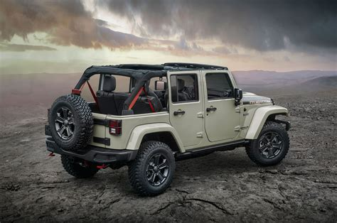 jl jeep diesel jeep rolls out 2017 wrangler rubicon recon ahead of jl