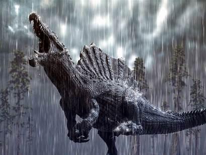 Spinosaurus Herschel Hoffmeyer Storm Deviantart Tropical Dinosaur
