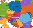 Austria on world map - Austria map in world map (Western ...