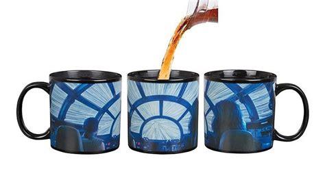 Anime coffee mugs color changing tea cups creative magic drinkware (e). Mugs Home & Garden STAR WARS HEAT CHANGING MAGIC COFFEE MUG TEA CUP MILLENNIUM FALCON DARTH ...