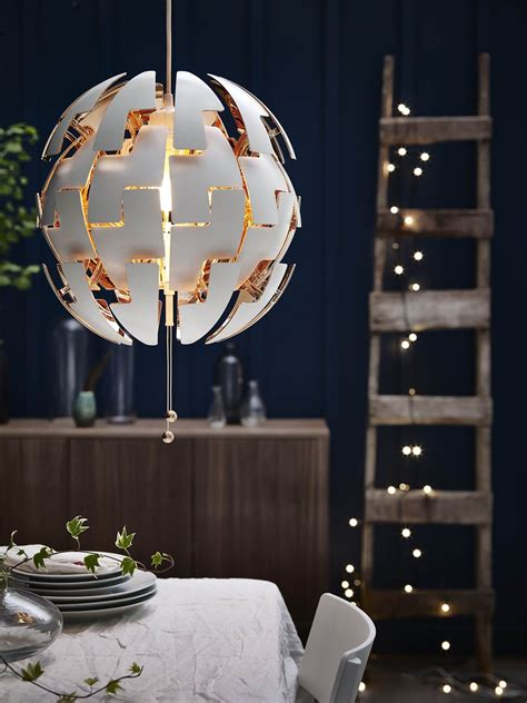 ikea led hanglamp ps  interieur door uwwoonmagazine