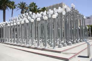 Urban Light Lacma by Lacma Los Angeles County Museum Of Art Installations