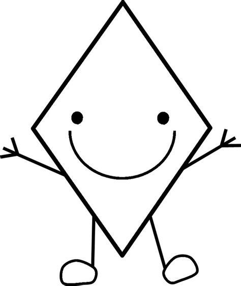 dibujo de teselado con rombos para colorear dibujos para rombo cara byn orientaci 243 n and 250