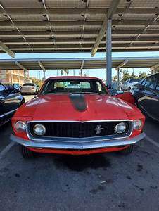 1st generation red 1969 Ford Mustang 289 V8 automatic For Sale - MustangCarPlace