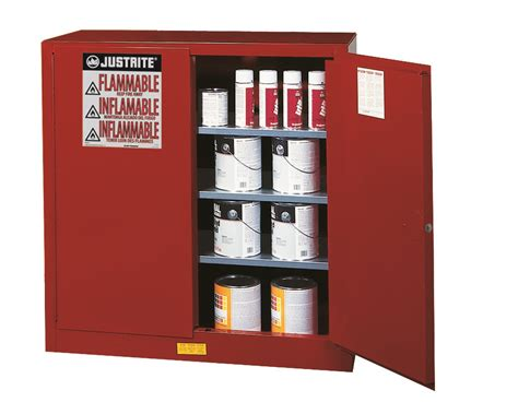 justrite 40 gal cabinet manual red p i safe ex jum893011