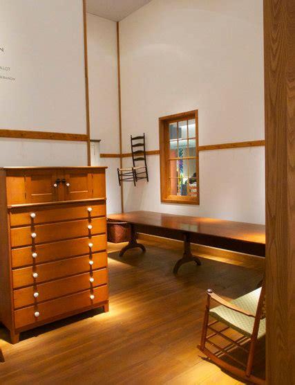 european fine art fair showcases shaker furniture