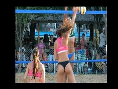Julia benet beach volley wedgies - YouTube