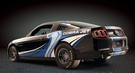 Ford Mustang Cobra Jet Concept Gets Twin-turbo 5.0l V-8
