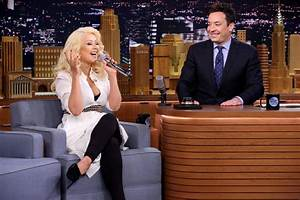 Aguilera Scheduled For June 14 Quot Tonight Show