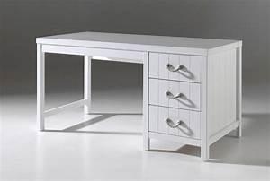 Schreibtisch Weiß Schubladen : schreibtisch lewis 3 schubladen wei kinder jugendzimmer schreibtische ~ Orissabook.com Haus und Dekorationen