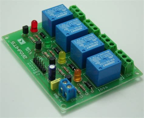 Channel Relay Board Electronics Lab