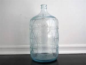 Vintage, Blue, Glass, Water, Jug