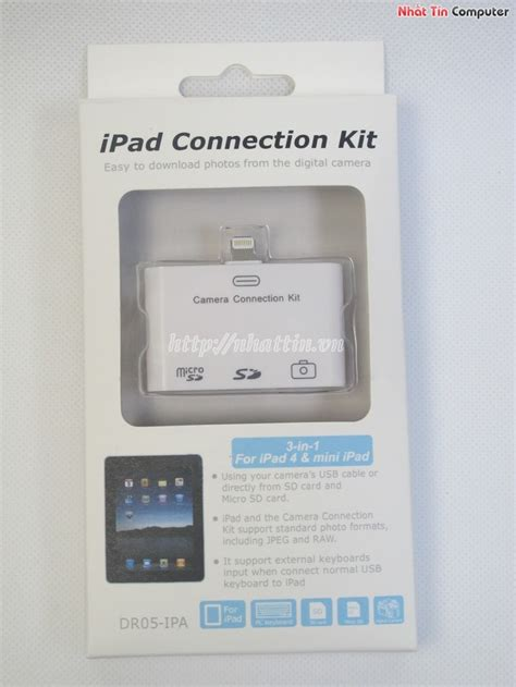 dauo   cho ipad ipad minicamera connection kit